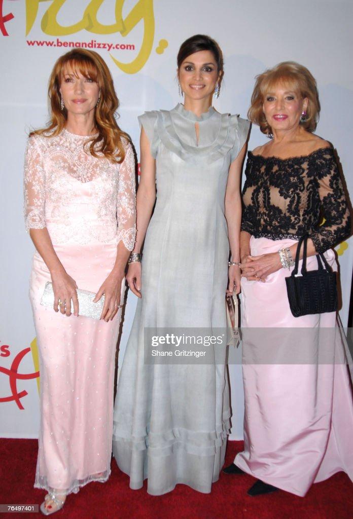 Jane Seymour, Her Majesty Queen Rania Al - Abdullah Of Jordan and Barbara Walters