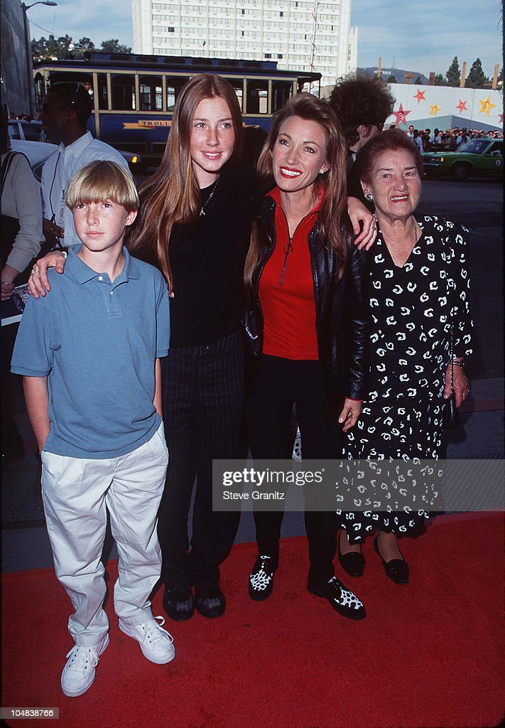 Seymour (MO) United States  city images : Jane Seymour, Kids, & Mom during '101 Dalmatians' Los Angeles Premiere ...