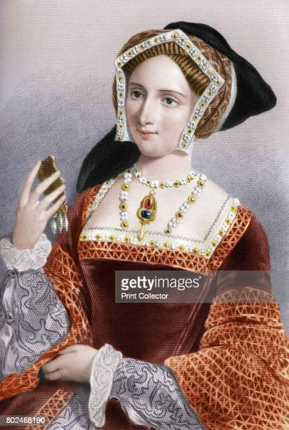 Jane Seymour the third wife of King Henry VIII 1851 From Biographical Sketches of the Queens of Great Britain from the Norman Conquest to the Reign...