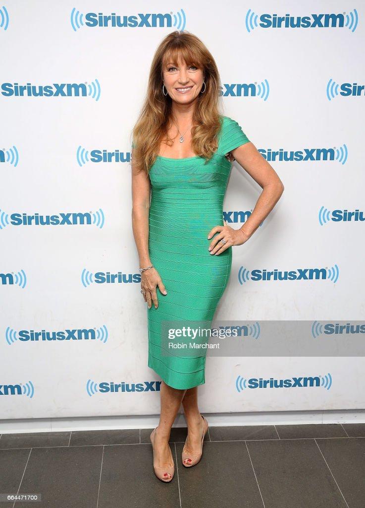 Jane Seymour visits at SiriusXM Studios on April 4, 2017 in New York City.