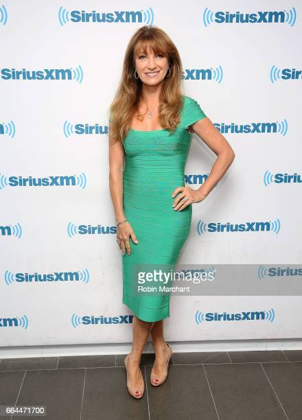 Jane Seymour visits at SiriusXM Studios on April 4 2017 in New York City