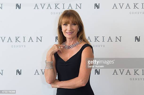 Jane Seymour visits The Avakian Suite during The 68th Annual Cannes Film Festival at Carlton Hotel on May 14 2015 in Cannes France