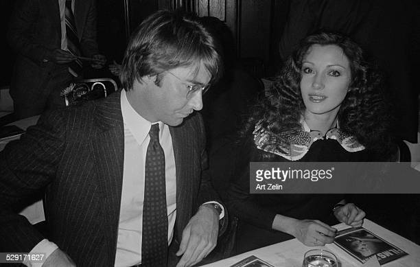 Jane Seymour with David Flynn her husband circa 1970 New York