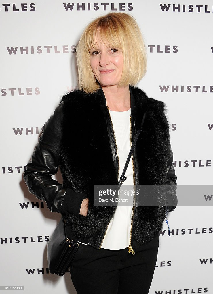 <a gi-track='captionPersonalityLinkClicked' href=/galleries/search?phrase=Jane+Shepherdson&family=editorial&specificpeople=3988813 ng-click='$event.stopPropagation()'>Jane Shepherdson</a> attends the Whistles Limited Edition Autumn/Winter 2013 Collection party at The Arts Club on February 17, 2013 in London, England.
