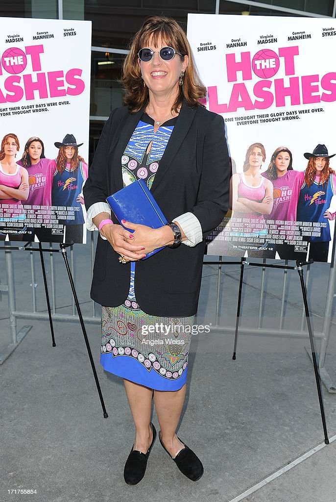 Jane Solomon arrives at the premiere of 'The Hot Flashes' at ArcLight Cinemas on June 27, 2013 in Hollywood, California.