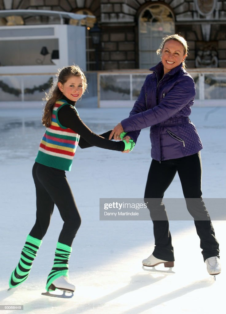 Somerset House Ice Rink - Opening Photocall