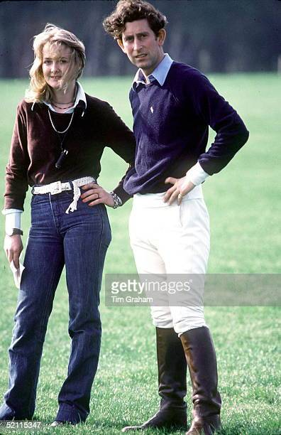 Jane Ward With Prince Charles At Smiths Lawn Polo Grounds Windsor Great Park