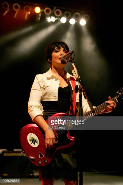 Jane Wiedlin of the GoGo's during The GoGo's and Morningwood Perform Live at the Greek Theater July 14 2006 at Greek Theatre in Los Angeles...