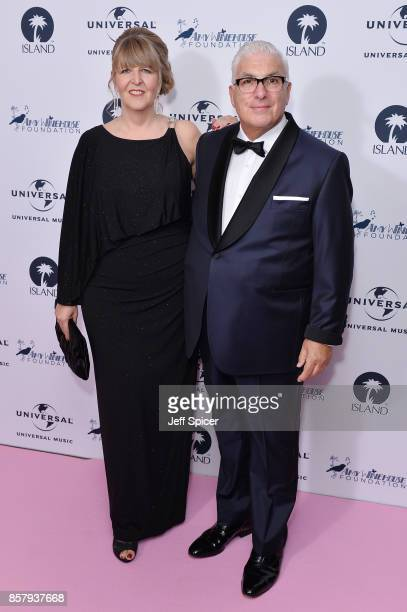 Jane Winehouse and Mitch Winehouse attend the Amy Winehouse Foundation Gala at The Dorchester on October 5 2017 in London England