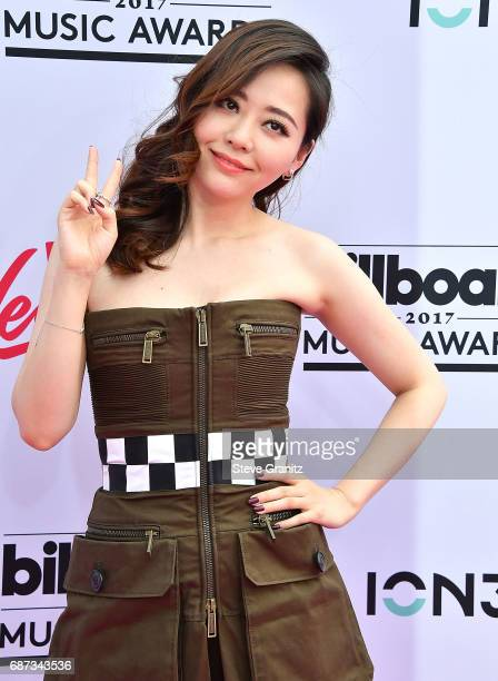 Jane Zhang arrives at the 2017 Billboard Music Awards at TMobile Arena on May 21 2017 in Las Vegas Nevada