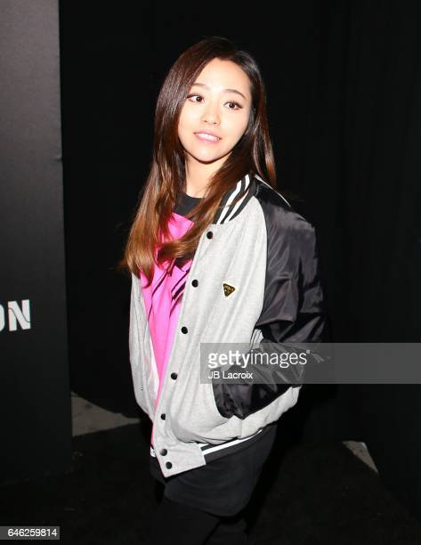 Jane Zhang attends Roc Nation's PreGRAMMY Brunch on February 11 2017 in Los Angeles California
