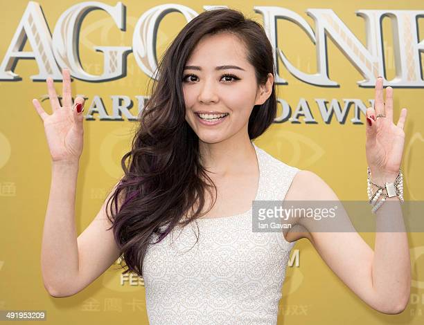 Jane Zhang attends the 'Dragon Nest' photocall during the 67th Annual Cannes Film Festival on May 18 2014 in Cannes France