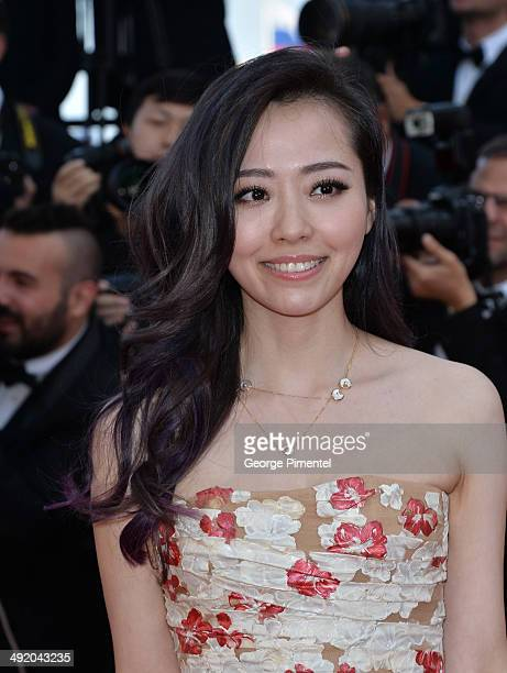 Jane Zhang attends 'The Homesman' Premiere at the 67th Annual Cannes Film Festival on May 18 2014 in Cannes France