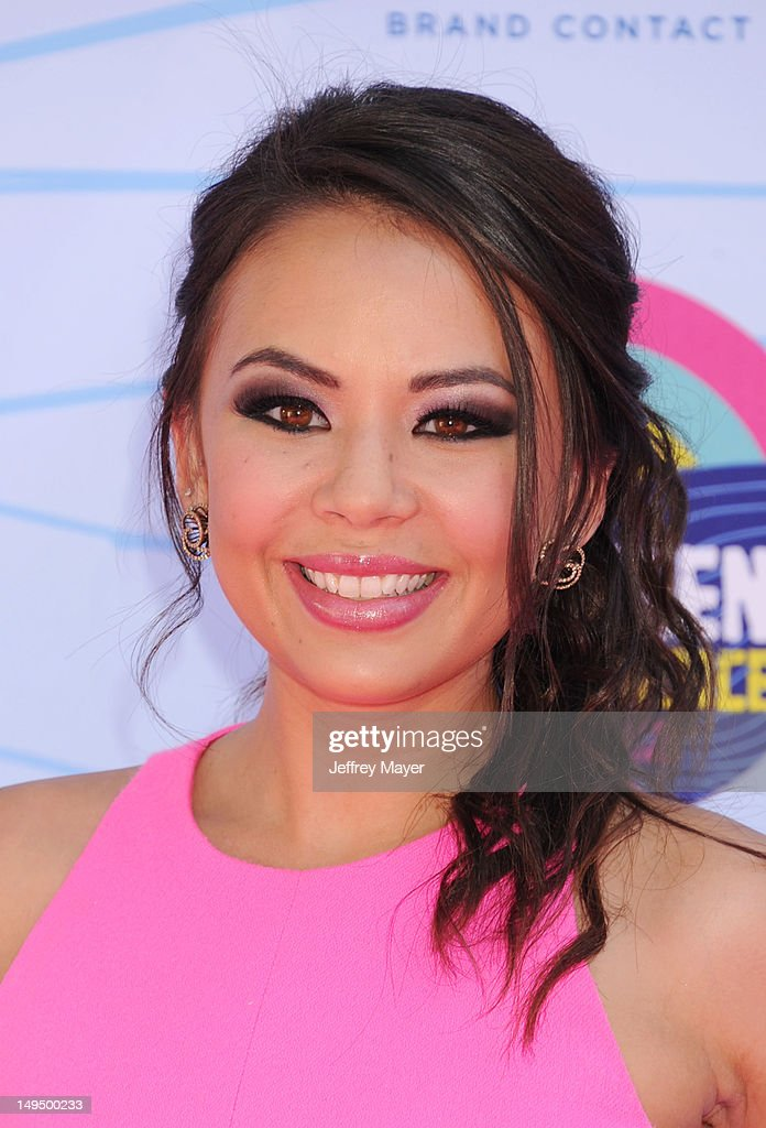 Janel Parrish arrives at the 2012 Teen Choice Awards at Gibson Amphitheatre on July 22, 2012 in Universal City, California.