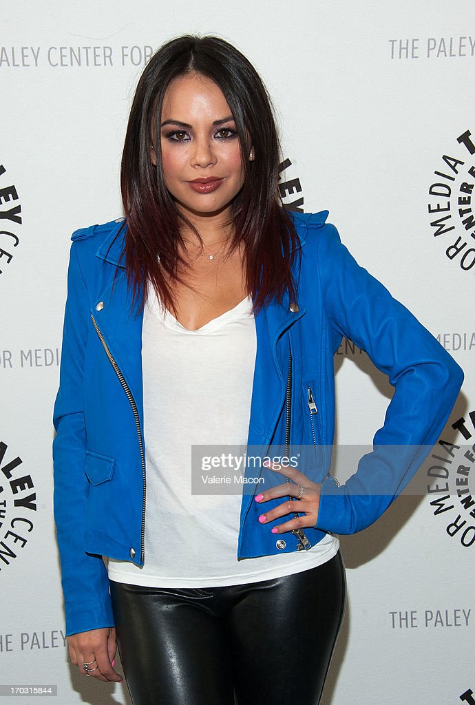 <a gi-track='captionPersonalityLinkClicked' href=/galleries/search?phrase=Janel+Parrish&family=editorial&specificpeople=4380531 ng-click='$event.stopPropagation()'>Janel Parrish</a> attends The Paley Center For Media Presents An Evening With 'Pretty Little Liars' at The Paley Center for Media on June 10, 2013 in Beverly Hills, California.