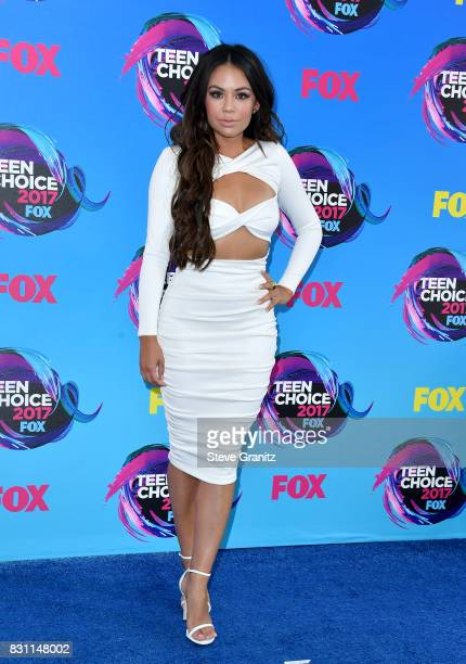 Janel Parrish attends the Teen Choice Awards 2017 at Galen Center on August 13 2017 in Los Angeles California