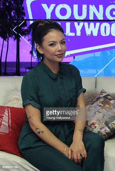 Janel Parrish visits the the Young Hollywood Studio on January 13 2017 in Los Angeles California