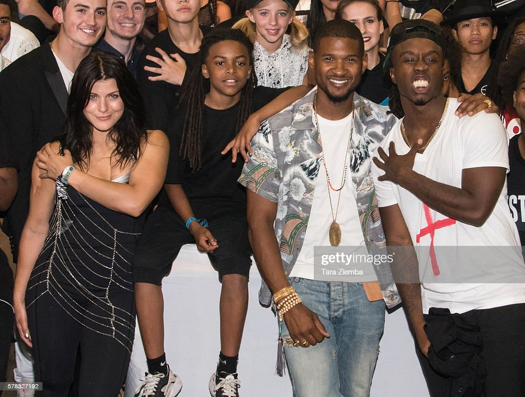 Janelle Ginestra Donielle 'LilDeeDee' Hansley Usher and William 'WilldaBeast' Adams attend the 2nd Annual BuildaBEAST Experience at Sheraton Fairplex...