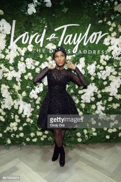 Janelle Monae and Lord Taylor celebrate The Dress Address at Lord Taylor 5th Avenue on March 23 2017 in New York City