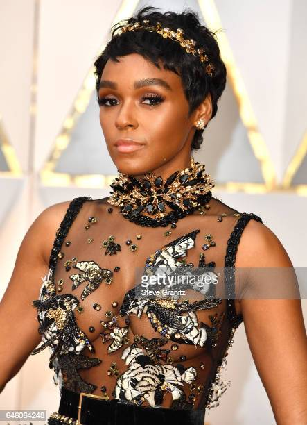 Janelle Monae arrives at the 89th Annual Academy Awards at Hollywood Highland Center on February 26 2017 in Hollywood California