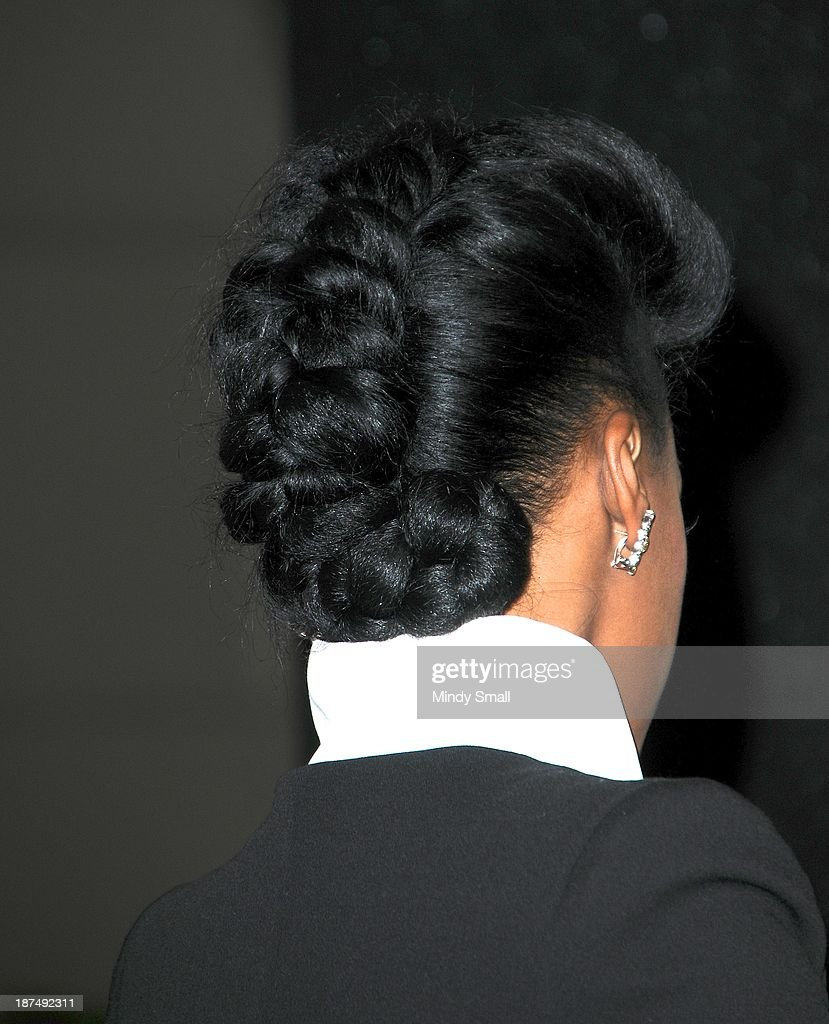 <a gi-track='captionPersonalityLinkClicked' href=/galleries/search?phrase=Janelle+Monae&family=editorial&specificpeople=715847 ng-click='$event.stopPropagation()'>Janelle Monae</a> (hair detail) arrives at the Soul Train Awards 2013 at the Orleans Hotel & Casino on November 8, 2013 in Las Vegas, Nevada.