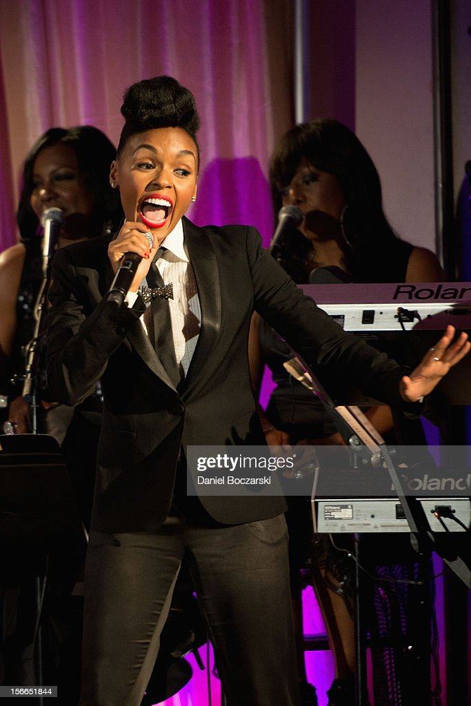 Janelle Monae attends An Evening with Berry Gordy at the Art Institute Of Chicago on November 17, 2012 in Chicago, Illinois.