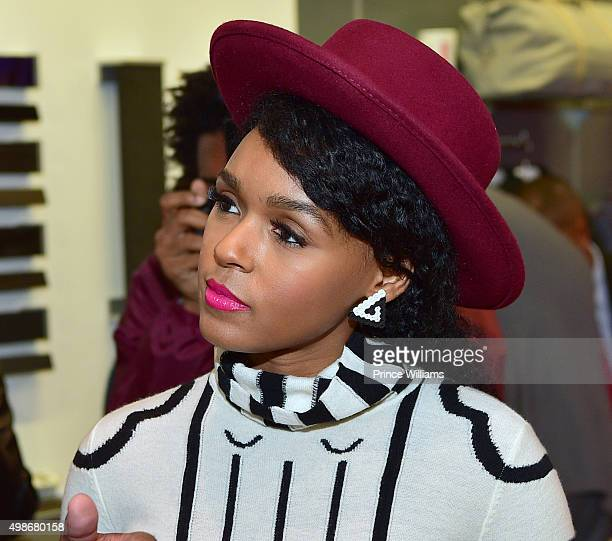 Janelle Monae attends 'Legacy Atlanta' at Tesla Atlanta on November 24 2015 in Atlanta Georgia