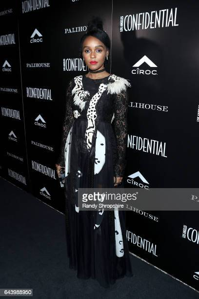 Janelle Monae attends Los Angeles Confidential magazine and CIROC UltraPremium Vodka celebrate the Spring Oscars issue with Janelle Monae at...