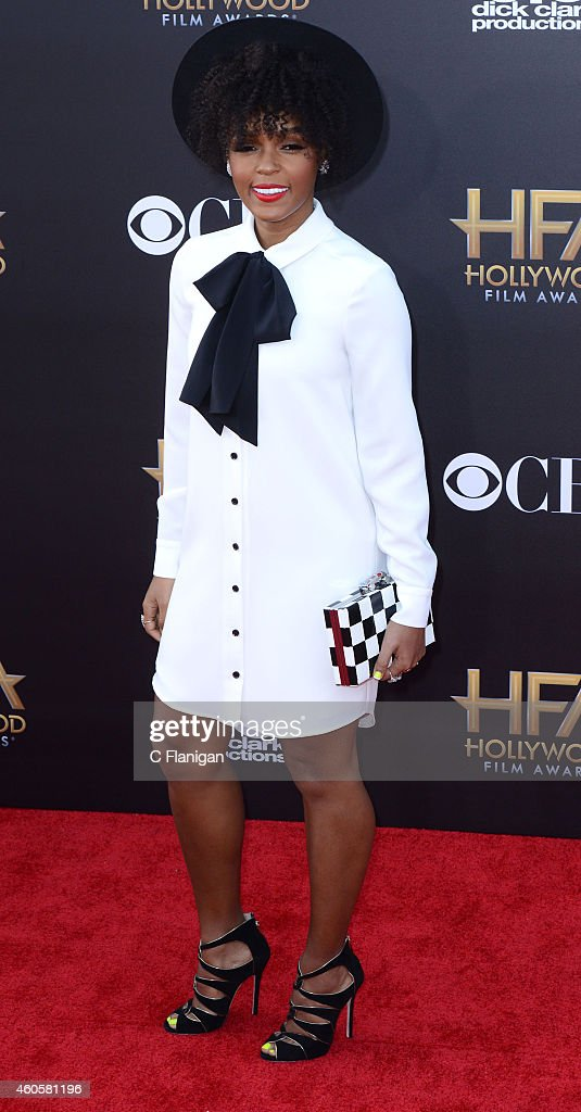 Janelle Monae attends the 18th Annual Hollywood Film Awards at The Palladium on November 14 2014 in Hollywood California