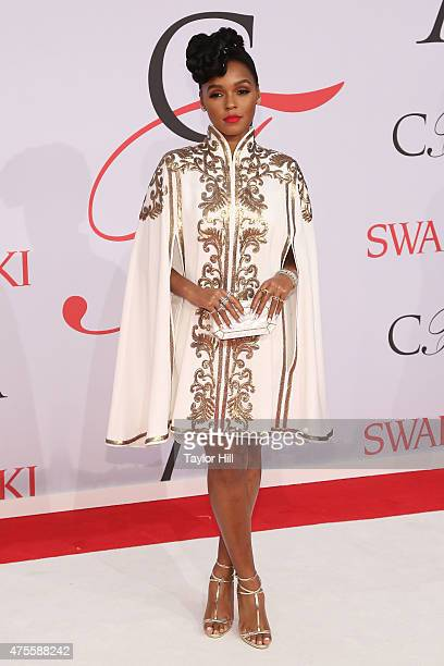 Janelle Monae attends the 2015 CFDA Awards at Alice Tully Hall at Lincoln Center on June 1 2015 in New York City