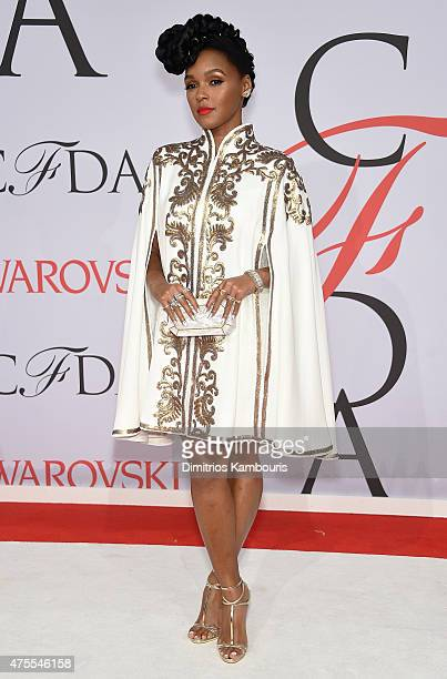 Janelle Monae attends the 2015 CFDA Fashion Awards at Alice Tully Hall at Lincoln Center on June 1 2015 in New York City