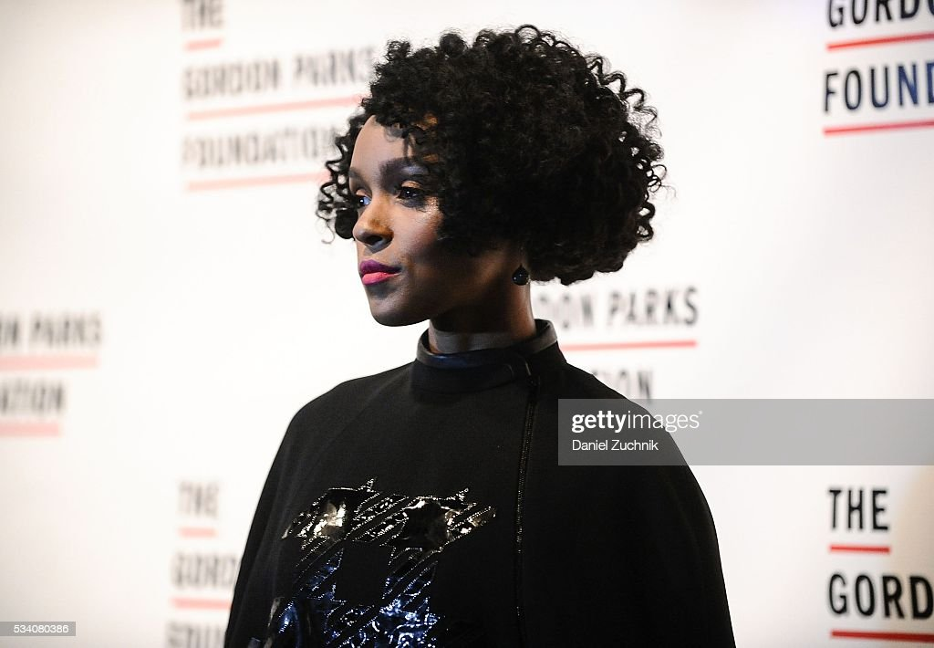 Janelle Monae attends the 2016 Gordon Parks Foundation Awards Dinner at Cipriani 42nd Street on May 24 2016 in New York City