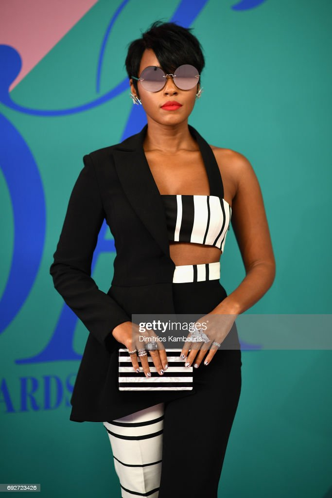 Janelle Monae attends the 2017 CFDA Fashion Awards at Hammerstein Ballroom on June 5, 2017 in New York City.