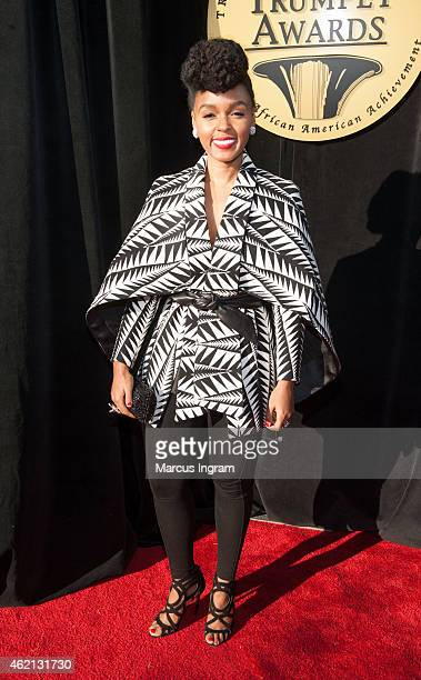 Janelle Monae attends the 23rd Annual Trumpet Awards at Cobb Energy Performing Arts Center on January 24 2015 in Atlanta Georgia