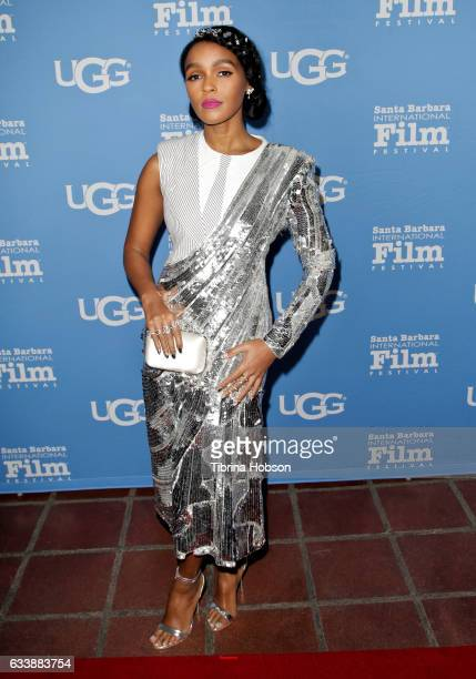 Janelle Monae attends the 32nd Santa Barbara International Film Festival Virtuosos Tribute at Arlington Theater on February 4 2017 in Santa Barbara...