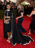 Janelle Monae attends the 'China Through The Looking Glass' Costume Institute Benefit Gala at the Metropolitan Museum of Art on May 4 2015 in New...