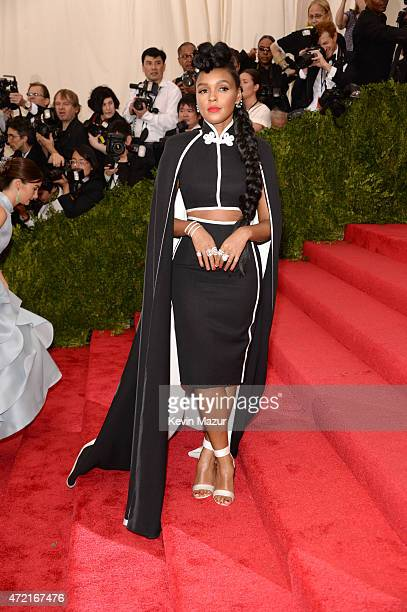 Janelle Monae attends the 'China Through The Looking Glass' Costume Institute Benefit Gala at Metropolitan Museum of Art on May 4 2015 in New York...
