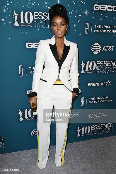 Janelle Monae attends the Essence 10th Annual Black Women In Hollywood Awards Gala at the Beverly Wilshire Four Seasons Hotel on February 23 2017 in...