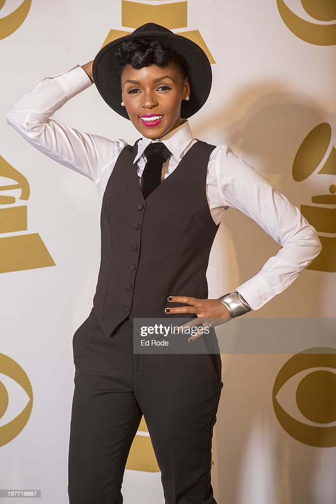 <a gi-track='captionPersonalityLinkClicked' href=/galleries/search?phrase=Janelle+Monae&family=editorial&specificpeople=715847 ng-click='$event.stopPropagation()'>Janelle Monae</a> attends The GRAMMY Nominations Concert Live!! at Bridgestone Arena on December 5, 2012 in Nashville, Tennessee.