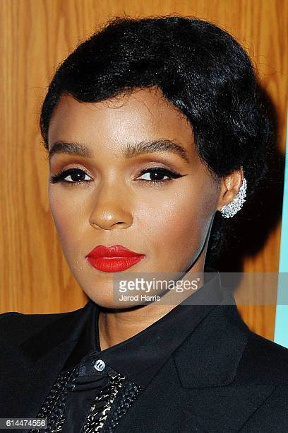 Janelle Monae attends the Premiere of A24's 'Moonlight' at DGA Theater on October 13 2016 in Los Angeles California
