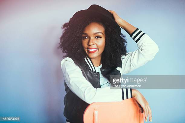 Janelle Monae is photographed for Billboard Magazine on June 7 2015 in New York City ON DOMESTIC EMBARGO UNTIL SEPTEMBER 15 2015 ON INTERNATIONAL...