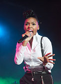 Janelle Monae performs at the BlackBerry Z10 Launch Event at Best Buy Theater on March 21 2013 in New York City