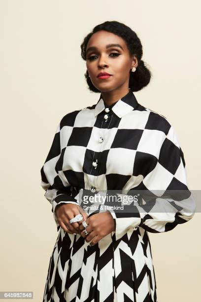 Janelle Monae poses for a portrait session at the 2017 Film Independent Spirit Awards on February 25 2017 in Santa Monica California