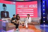 Janelle Monae visits BET's '106 Park' at BET Studios on May 1 2013 in New York City