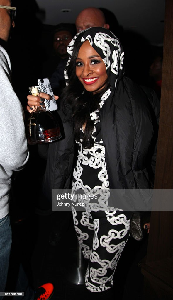Janelle Snowden attends Rihanna's 'Unapologetic' Record Release Party at 40 / 40 Club on November 20, 2012 in New York City.