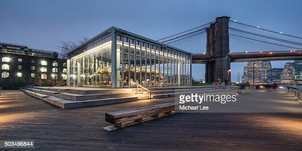 Image result for Jane's carousel Brooklyn Bridge park