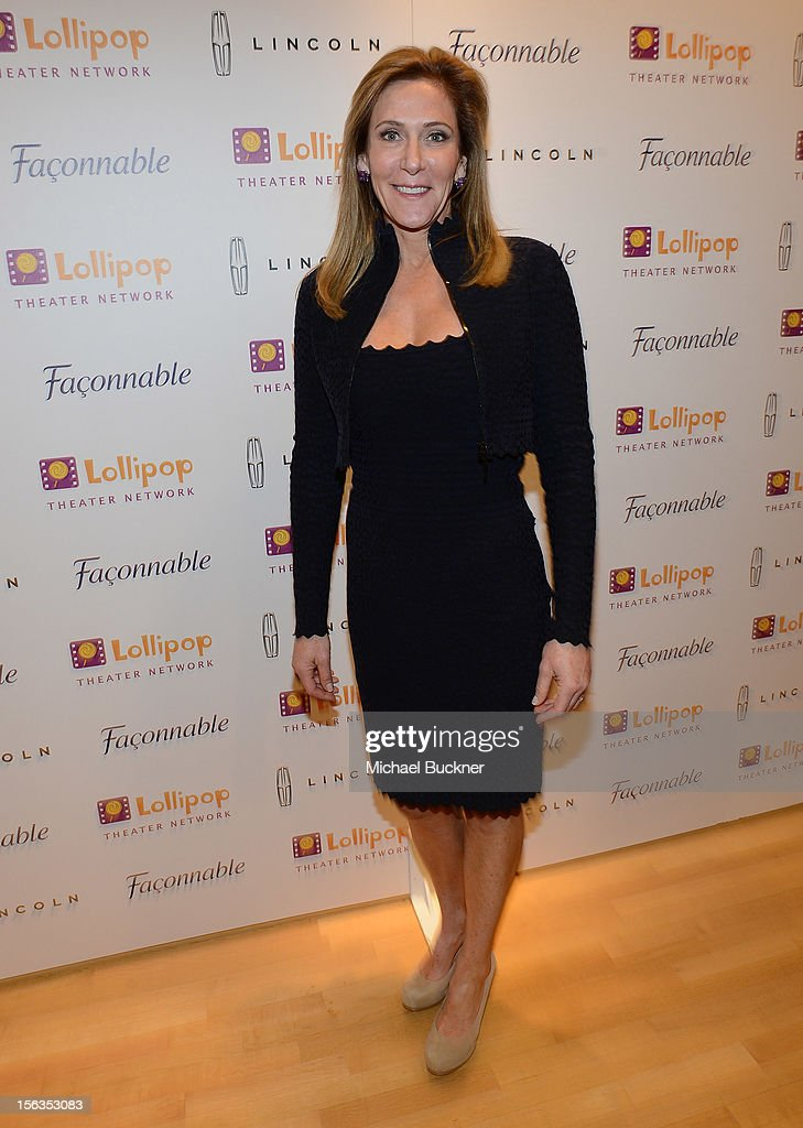 Janet Crown attends the Faconnable Kicks Off The Holidays Shopping Event Benefitting Lollipop Theater Network at Faconnable on November 13, 2012 in Beverly Hills, California.