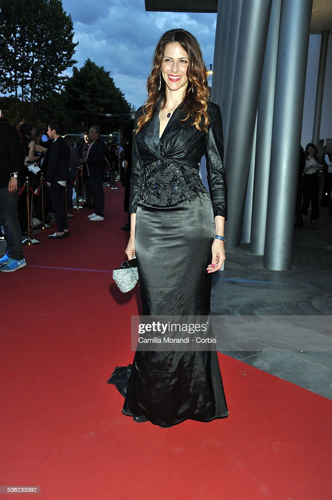 Janet De Nardis attends Nastri D'Argento 2016 Award Nominations Red carpet on May 31, 2016 in Rome, Italy.