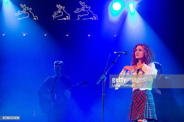 Janet Devlin performs at Union Chapel on December 8 2016 in London United Kingdom