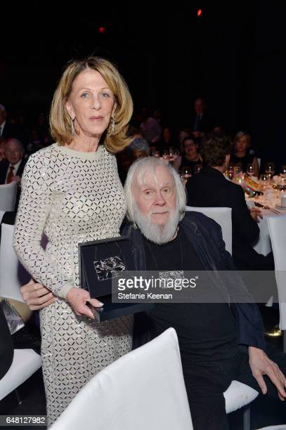 Janet Dreisen Rappaport and John Baldessari attend 2017 REDCAT Gala Honoring Janet Dreisen Rappaport and John Baldessari on March 4 2017 in Los...